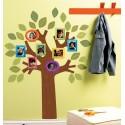 Mos Craciun - sticker decorativ imprimat