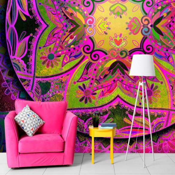 Fototapet  Mandala Pink Expression