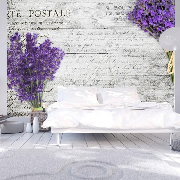 Fototapet  Lavender postcard