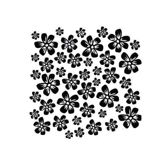 Sticker decorativ Cercuri concentrice