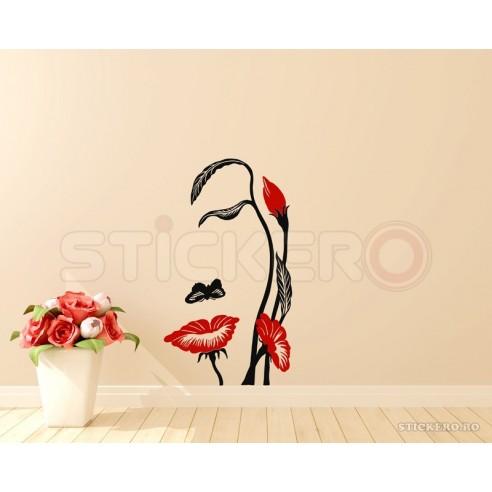 Floare umana - sticker decorativ