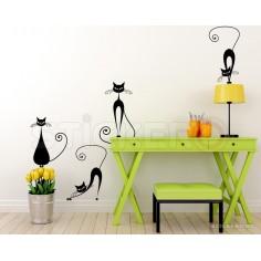 Pisicute 2 - sticker decorativ