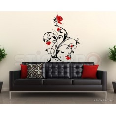 Sticker decorativ Floarea Chic