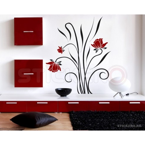 Sticker decorativ Buchet Floral
