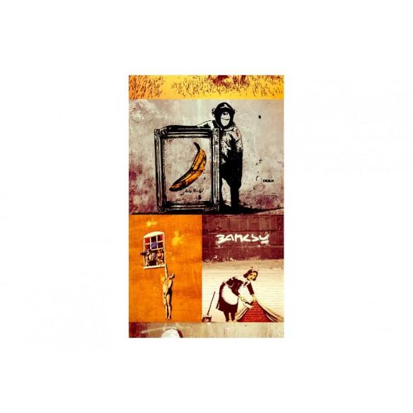 Fototapet  Collage  Banksy