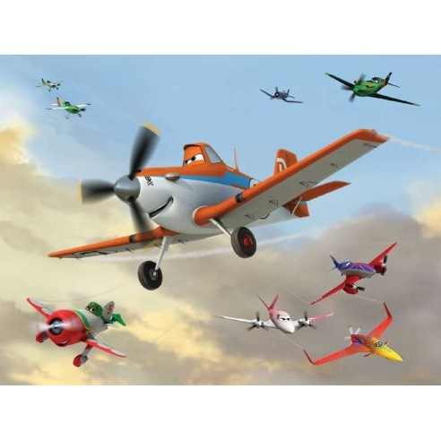 Fototapet - Planes - avioane Disney...