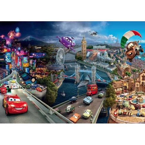 Fototapet Cars - Masinute Disney 3...