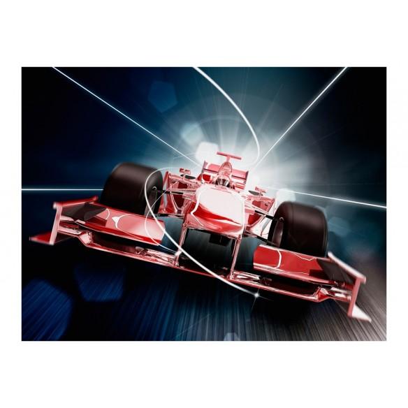 Fototapet  Speed and dynamics of Formula 1