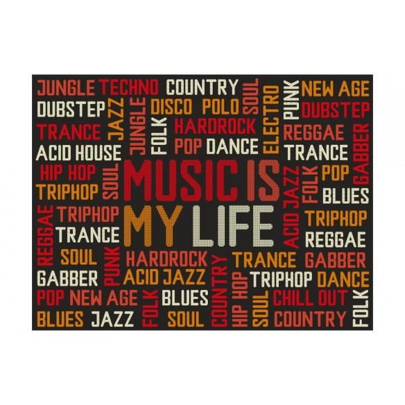 Fototapet  Music is my life