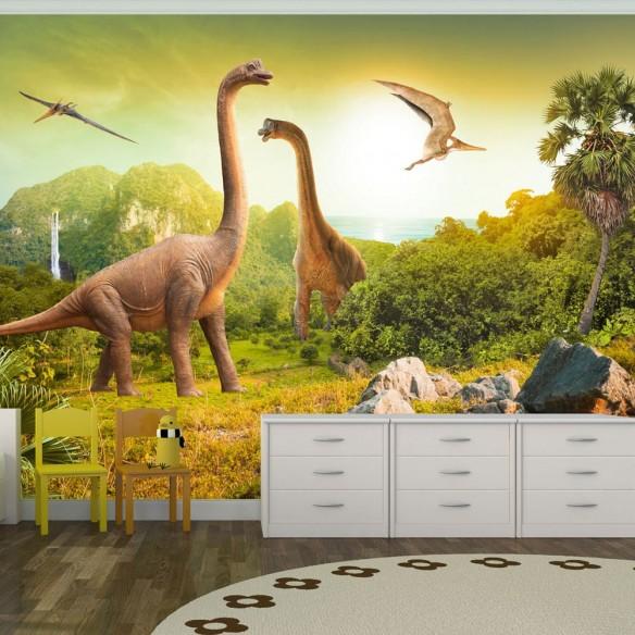 Fototapet  Dinosaurs