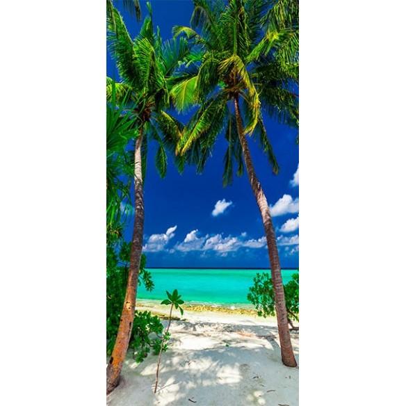 Fototapet pentru ușă  Photo wallpaper  Island, beach I