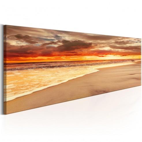 Tablou  Beach Beatiful Sunset