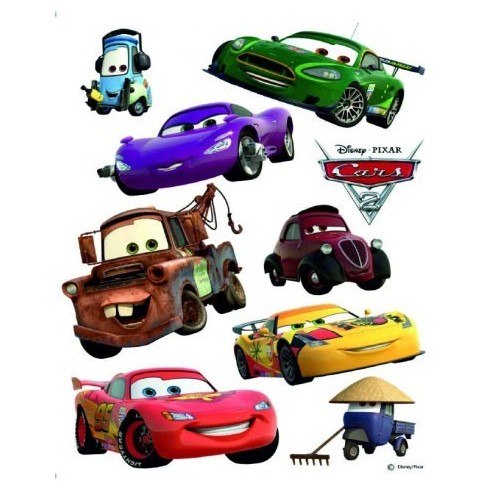 Sticker perete Walt Disney Cars 3