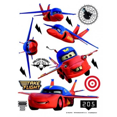 Sticker perete Walt Disney Cars 4