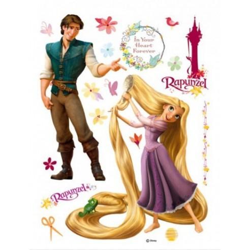 Sticker perete Walt Disney - Rapunzel 1