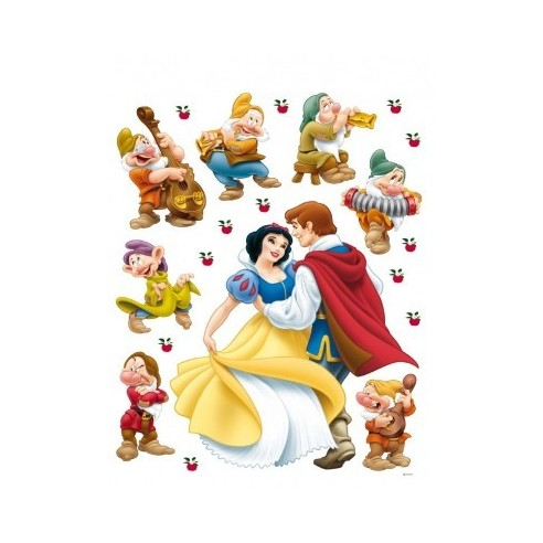 Sticker perete Walt Disney - Alba ca...