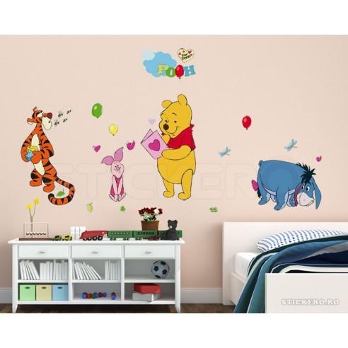 Sticker perete Walt Disney Winnie the...