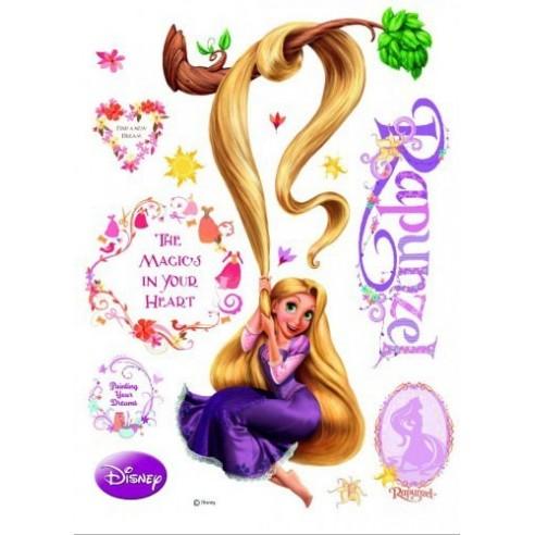 Sticker perete Walt Disney - Rapunzel 3