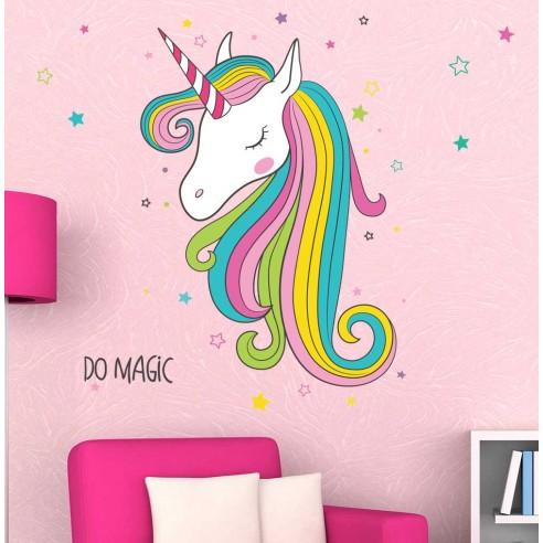 Sticker Sticker Unicorn multicolor /...