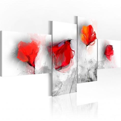 Tablou  Sentimental poppies