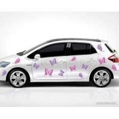 Set de fluturi - sticker auto