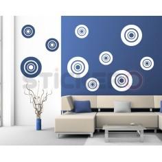 Sticker decorativ Cercuri...