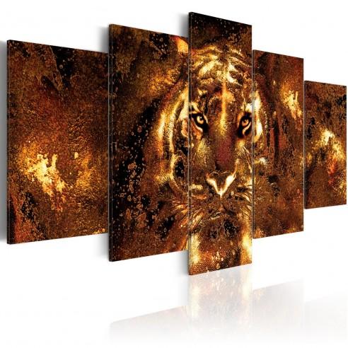 Tablou  Golden Tiger