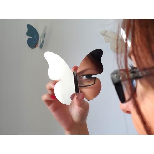 12 Fluturasi 3D Oglinda