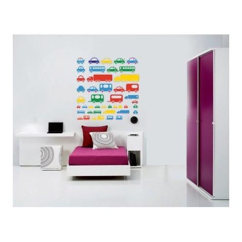Sticker decorativ masinute diverse...