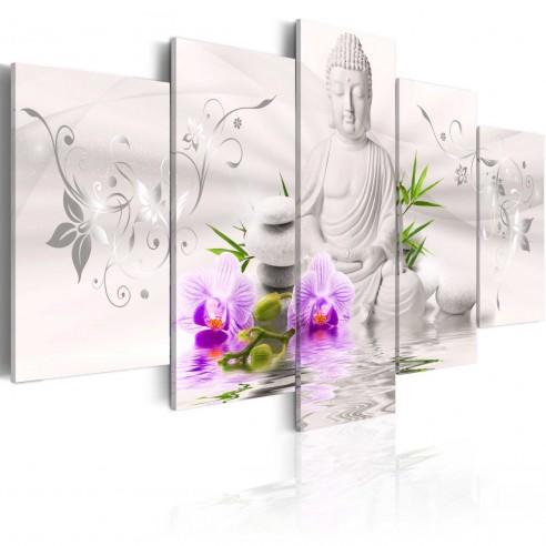 Tablou  White Buddha
