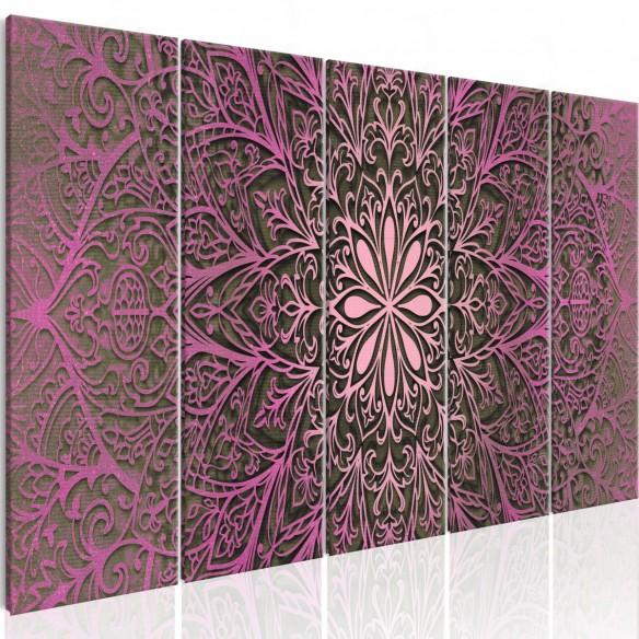 Tablou  Pink Mandala
