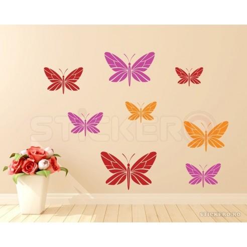 Sticker decorativ Fluturas vesel
