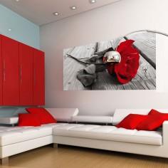 Fototapet Red rose