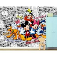 Fototapet Mickey si...