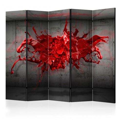 Paravan  Red Ink Blot II [Room Dividers]