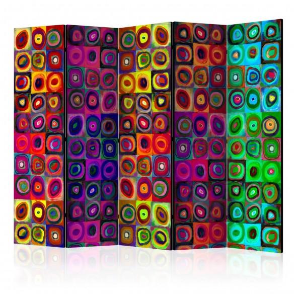 Paravan  Colorful Abstract Art II [Room Dividers]