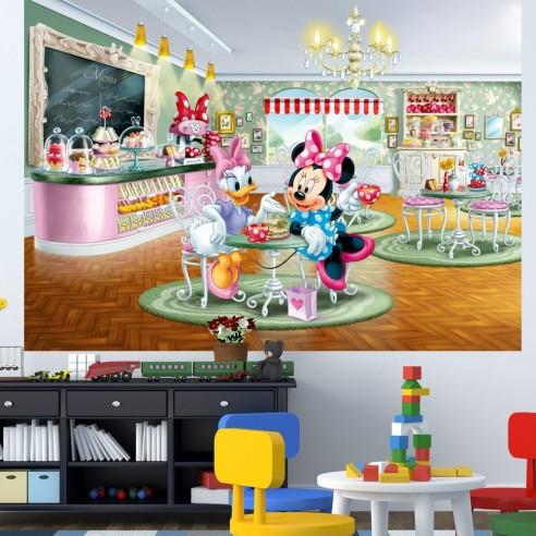 Fototapet Minnie si Daisy