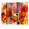 Paravan  Velvet Poppies II [Room Dividers]
