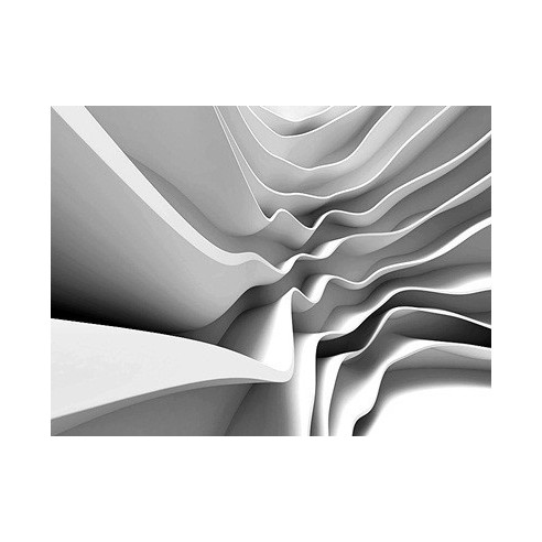 Fototapet modern cu efect 3D (360x270cm)