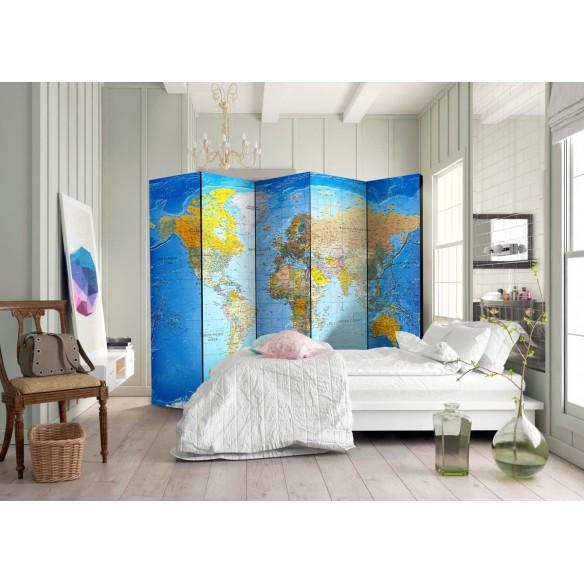 Paravan  World Classic Map  [Room Dividers]