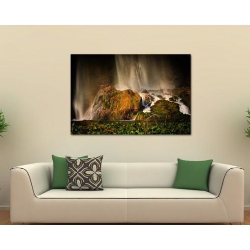 Cascada Plitvice - tablou canvas