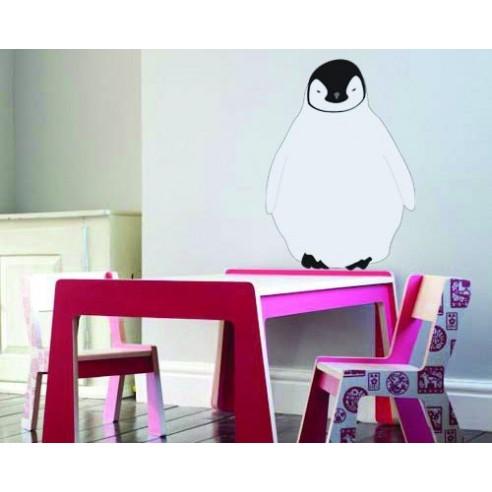 Sticker decorativ Pui de pinguin