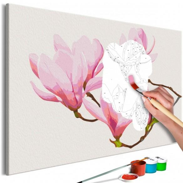 Set pictura pe numere  Floral Twig