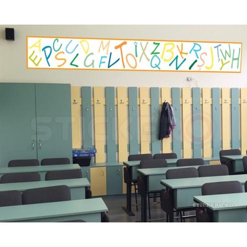 Friza LITERE pentru scoli si gradinite