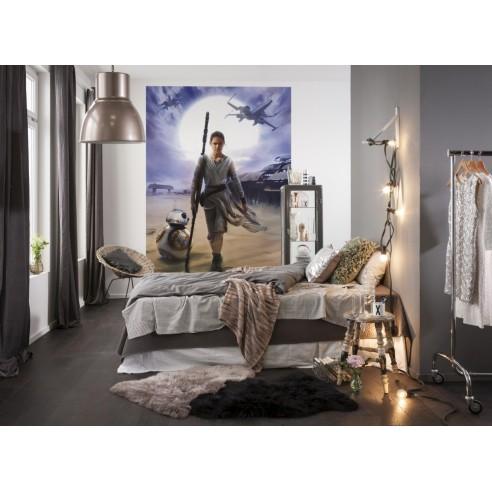 Fototapet Star Wars Rey (184 x 254 cm)