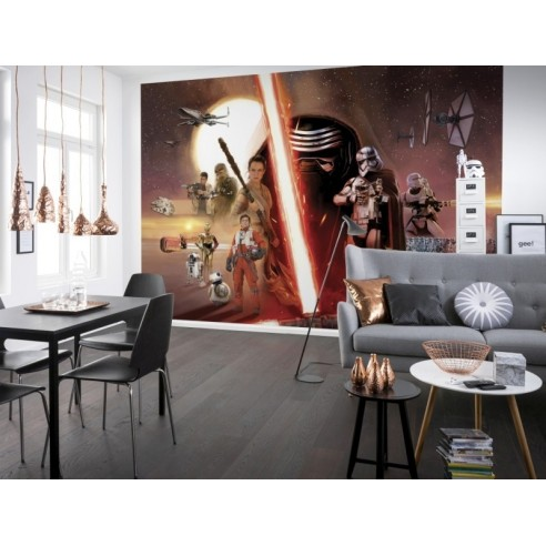 Fototapet Star Wars EP7 Collage (368...