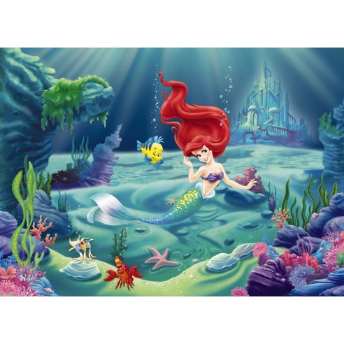 Fototapet Disney Arielle (254 x 184 cm)