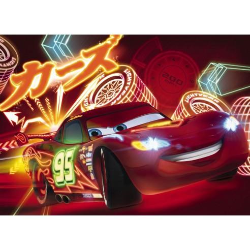 Fototapet Disney Cars Neon (254 x 184...