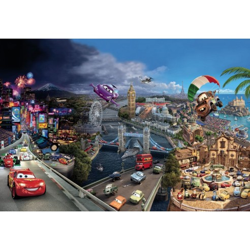 Fototapet disney Cars World (368 x...