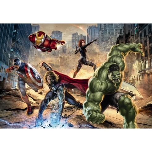 Fototapet Marvel Avengers Street Rage...